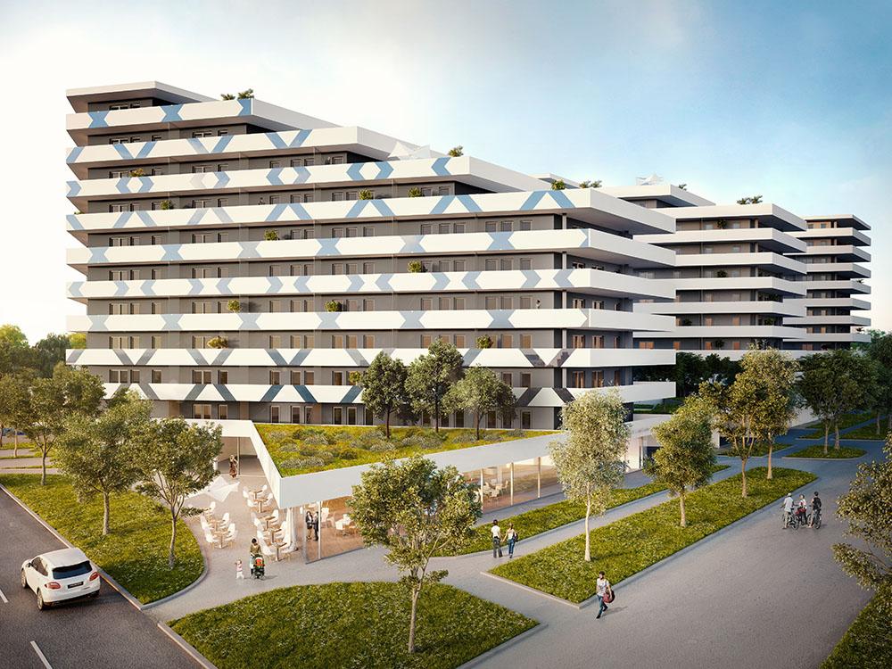 Marketing stratégia és új lakópark látványterve