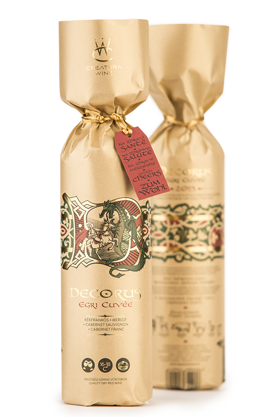 Creatura Wine - egri borászat - Decorus vörös Cuvée bor
