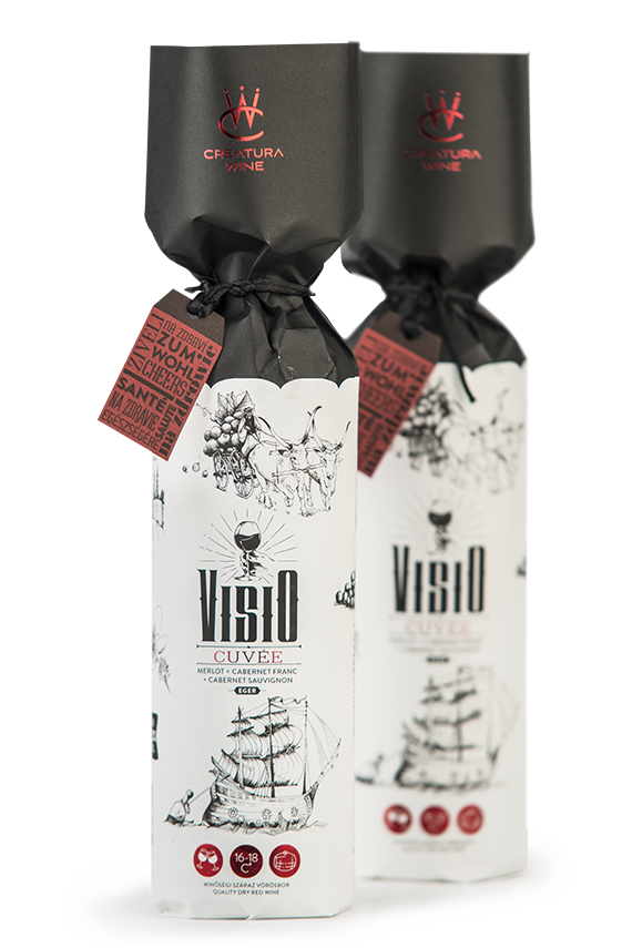 Creatura Wine - egri borászat - Visio vörös Cuvée bor