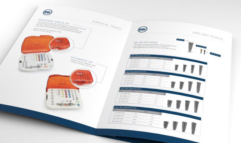 Denti System katalógus látványterve - nemzetközi márkaépítés