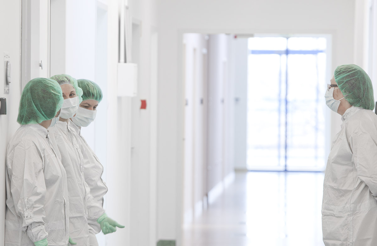 Denti System - nemzetközi márkaépítés - steril üzem - kutatók